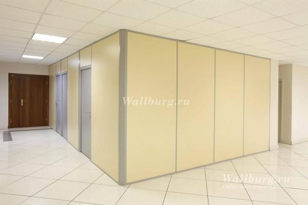 Комбинированные офисные перегородки вариант 23