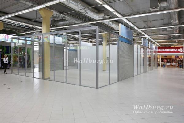 Перегородки для торговых центров вариант 19