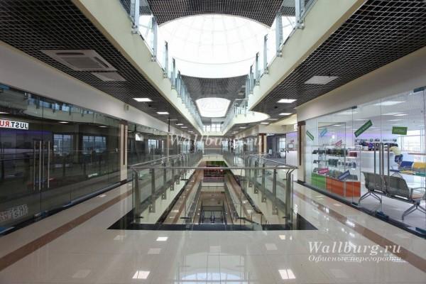 Перегородки для торговых центров вариант 10