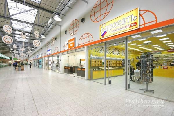 Перегородки для торговых центров вариант 2