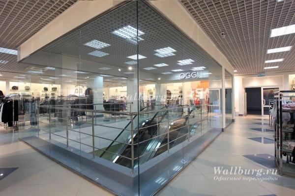 Перегородки для торговых центров вариант 5