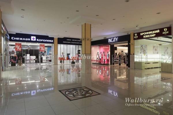 Перегородки для торговых центров вариант 8